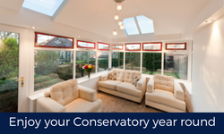 Transform your conservatory with a Global tiled roof