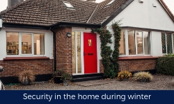 Security In The Home During Winter