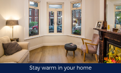 Stay warm in your home