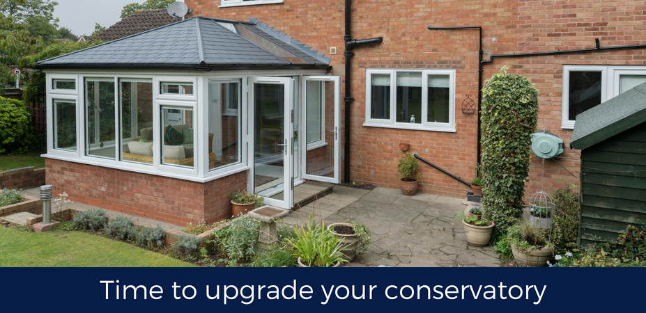 Time to upgrade your conservatory?
