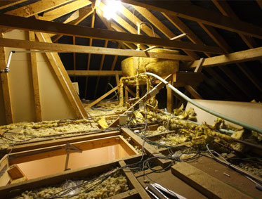 Warm your house not your attic