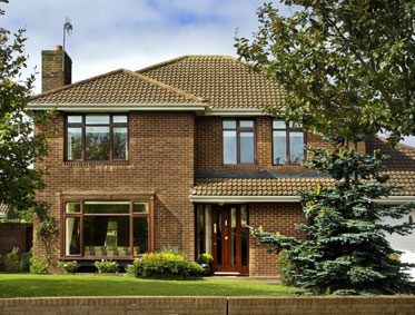 Triple glazed windows in a wide range of colour and designs